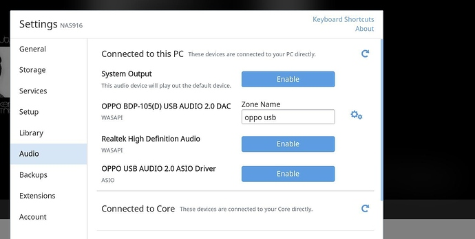 Cannot play through OPPO BDP-105D - Support - Roon Labs Community