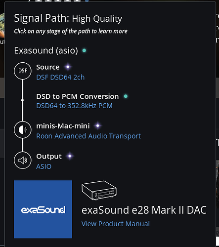 Roon 1 2, ASIO/ALSA drivers and Native DSD [fixed] - Support
