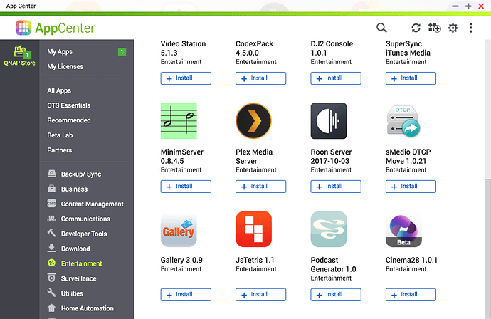 Qnap Where Are Apps Installed
