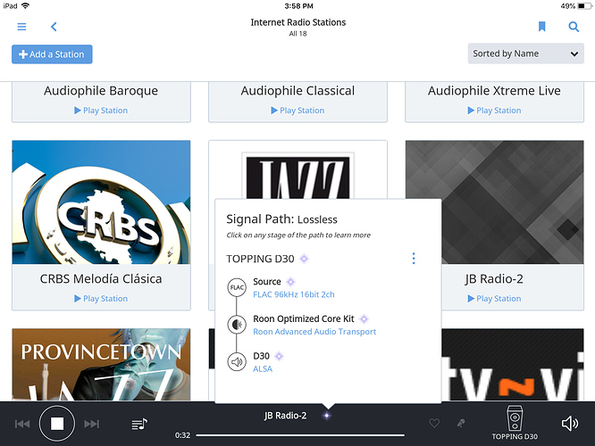 Internet Radio FLAC Stations Swap Meet - Roon Software