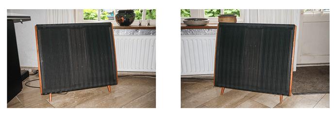 Pair of QUAD esl57 electrostatic loudspeakers