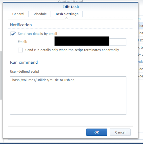 Backing up USB drive on ROCK to NAS - QNAP/Synology NAS
