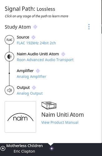 Naim Uniti Atom and Roon - Naim - Roon Labs Community