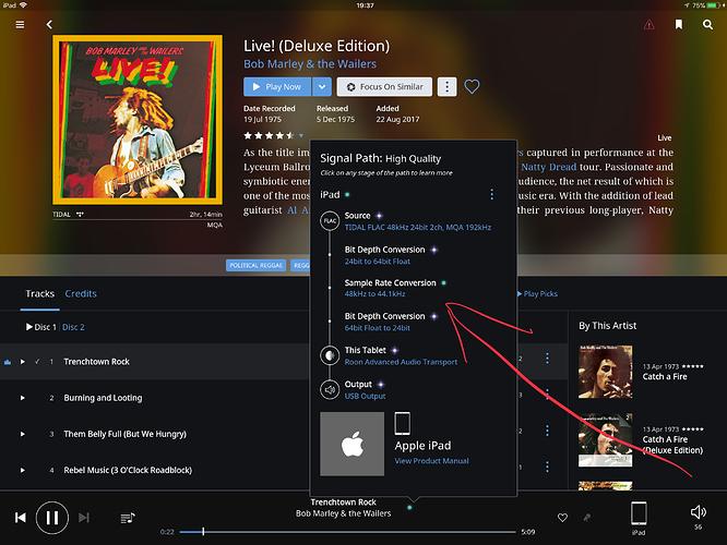 iPad Pro Explorer 2 no MQA [Fixed after reboot] - Support - Roon