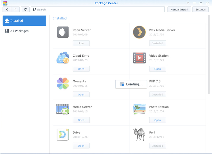 Can't run Roon on my Synology - QNAP/Synology NAS - Roon