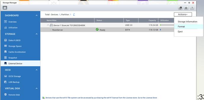 How do I create a shared folder on my external SSD, please help me
