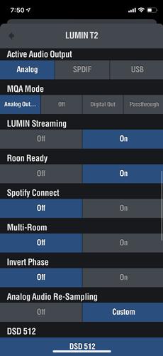 Lumin t2 app 2