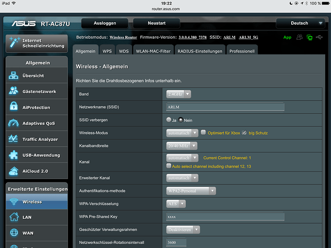 No connection with Asus RT AC 68U - Support - Roon Labs