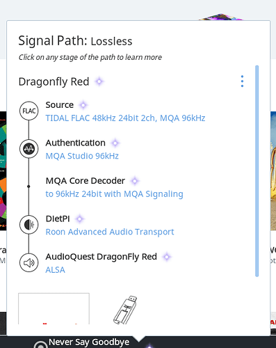MQA signal path help - Roon Software - Roon Labs Community