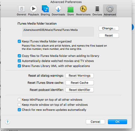 Import iTunes into Roon Nucleus - Support - Roon Labs Community