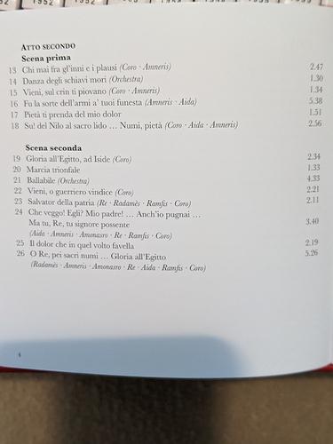 Aida CD1 Atto Segundo