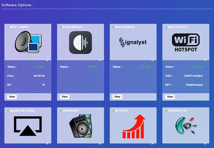 DietPi + Allo Web GUI: Now available - DietPi - Roon Labs Community