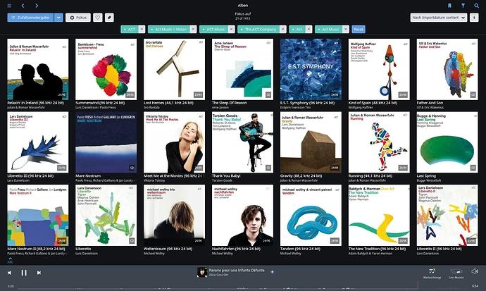 Qobuz HR albums — for real? (E g  ACT) [Never mind, false