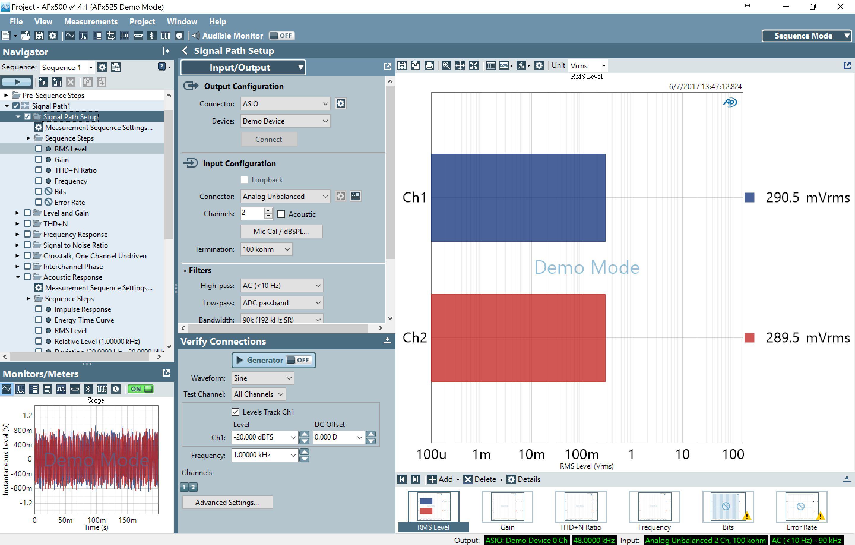 Access Roon music server via an ASIO/WDM driver by audio analyzer