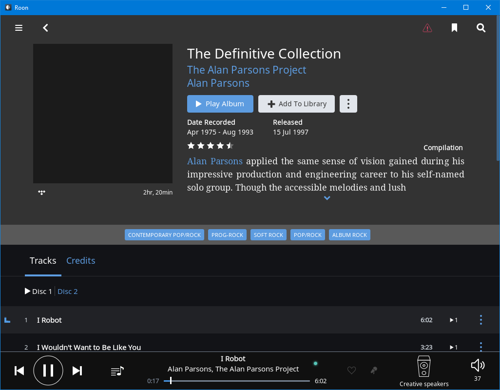 No artwork for Tidal albums on 1 Win 10 64 bit PC [Resolved