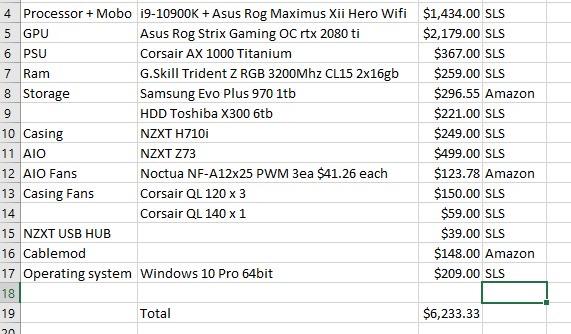 Proposed Desktop PC