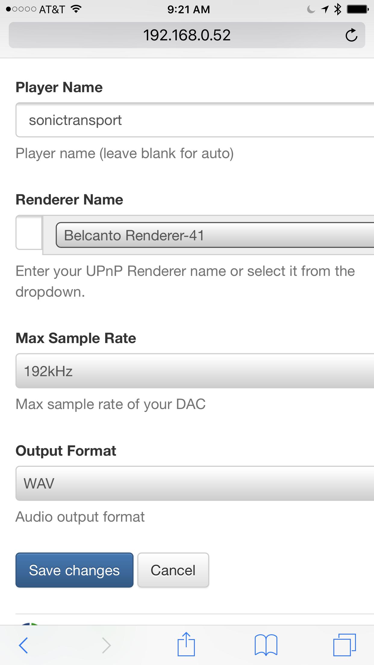 Roon Not Detecting sonicTransporter / Sonore uPnP Bridge