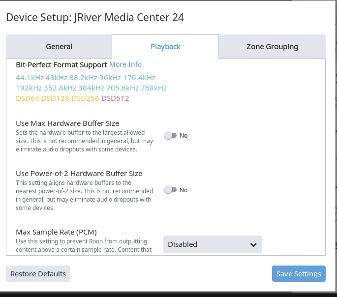 Stream to JRiver MC24 - Support - Roon Labs Community