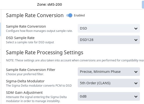 SOtM SMS-200 cannot do Native DSD with TEAC UD-501 [Answered