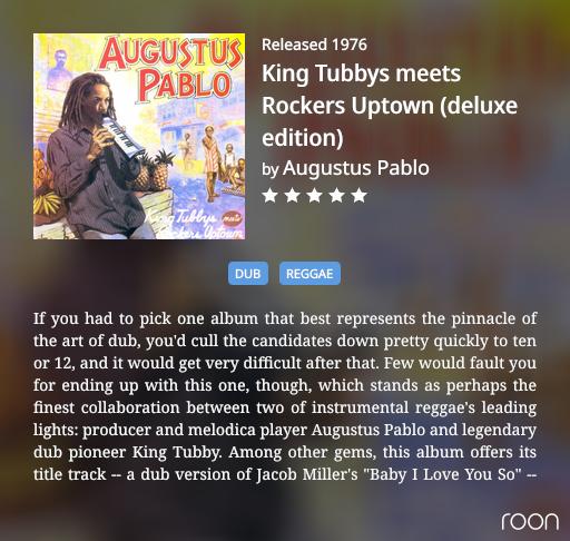 King Tubby Augustus