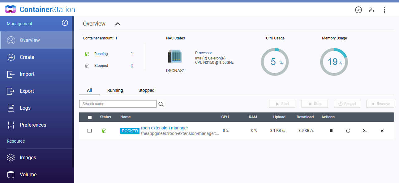 roon-extension-manager