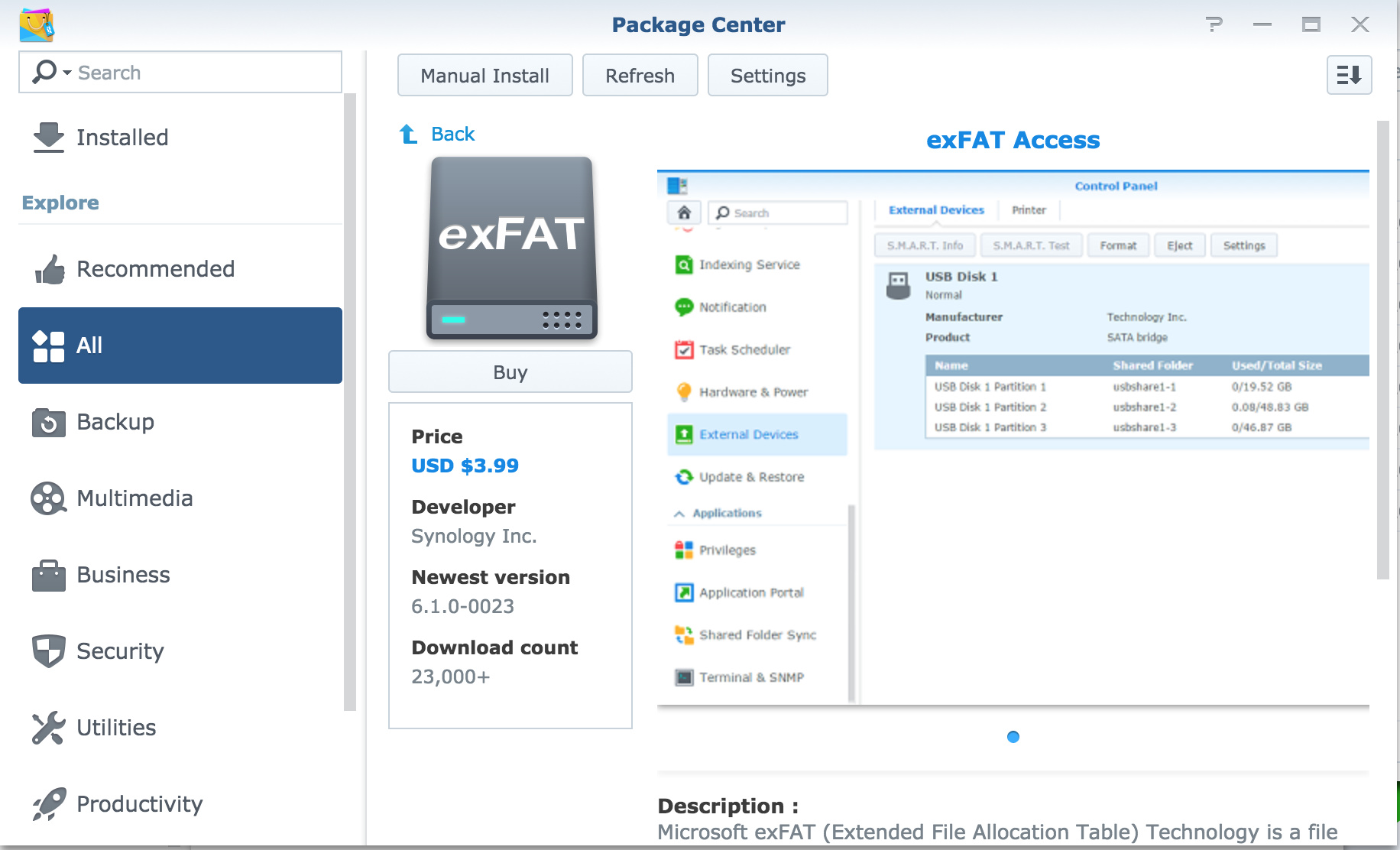 RoonServer on Synology does not start automatically after reboot of