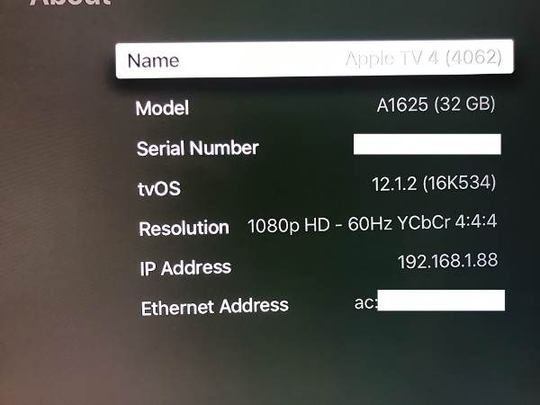 Having multiple Apple TV 4 showing up - Support - Roon Labs