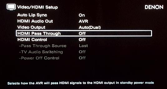 ROCK on Skull Canyon NUC: No HDMI output to Denon AVR - ROCK